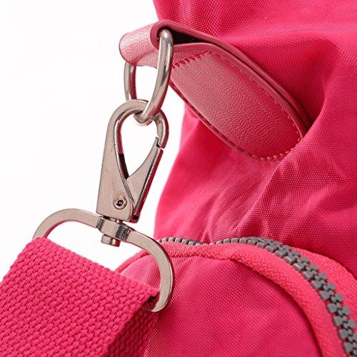 Toile fourre en Grande Bags Guo Toile Tout à capacité bandoulière 1 Feng Lady imperméable Crossbody Sac Nylon OqwIt