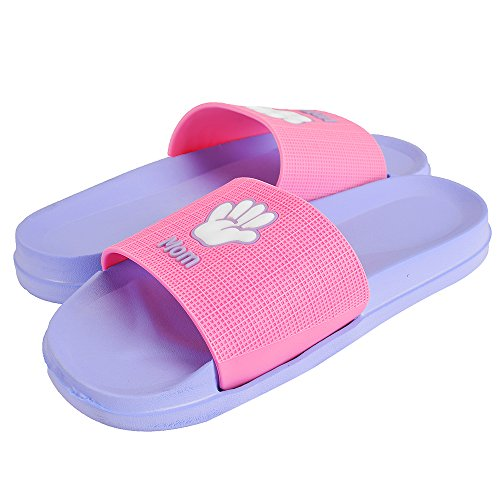 Flip Beach Non Pink Slip Shock Proof Slippers Flops Cuby Slippers Slides Mom Kids' Sandals wzYwCax