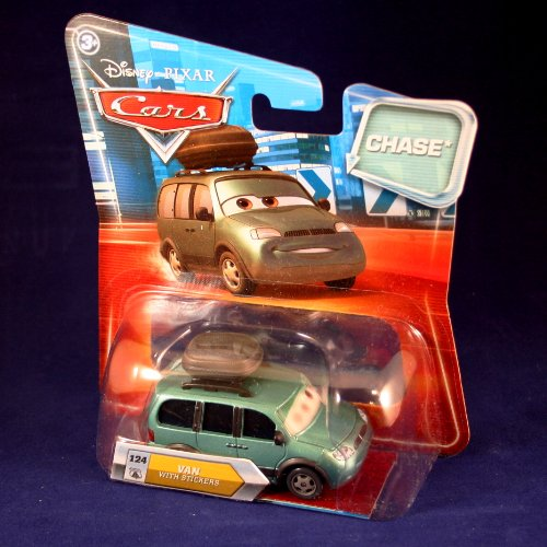 VAN WITH STICKERS #124 w/ Lenticular Eyes Disney / Pixar CAR
