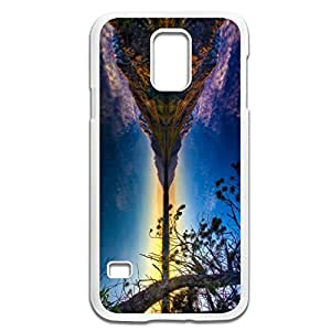 Samsung Galaxy S5 Cases Beautiful Lake Design Hard Back Cover Proctector Desgined By RRG2G