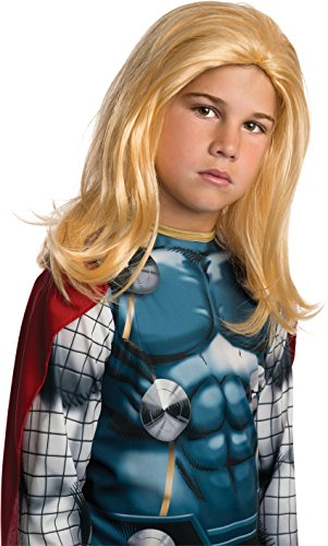 Rubies Marvel Universe Classic Collection Avengers Assemble Child Size Thor Wig