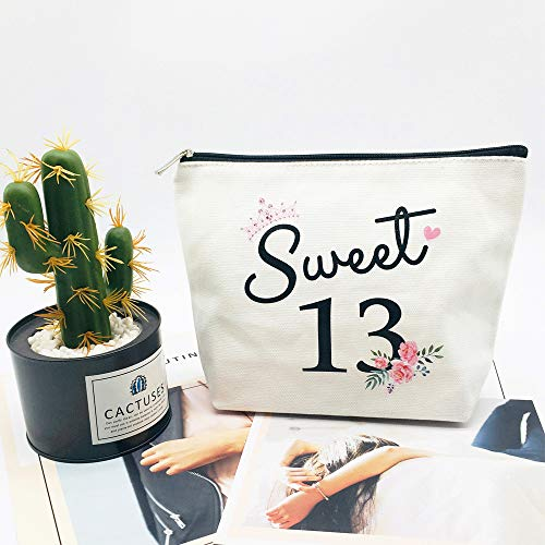 Sweet 13 Gifts for Girls 13th Birthday Gifts Ideas Best Friend Daughter Funny 13 Year Old Girls Sweet Thirteen Gifts for…