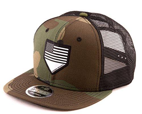 Diamond Respect New Era 9FIFTY Flat Brim Snapback Baseball Hat (Camouflage)