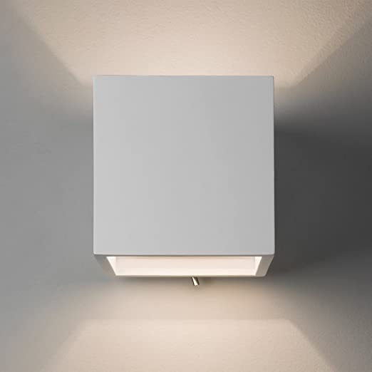 Astro 7260 pienza 140 switched minimalist double wall light in astro 7260 pienza 140 switched minimalist double wall light in plaster finish audiocablefo