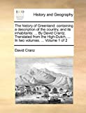 The History of Greenland, David Cranz, 1140991477