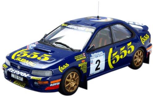 1/43 スバル インプレッサ 1994年ニュージーランドラリー優勝 #2 C.マクレー KBT002