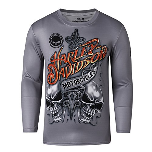 Motogp Herren T Shirts Harley Davidson Run Motocross Shirt
