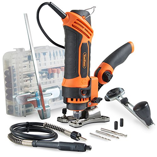VonHaus Rotary Multi Tool 550W with 287-Piece Accessory Kit for DIY Jobs -...