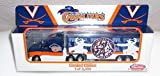 VIRGINIA CAVALIERS UNIV OF VIRGINIA NCAA DieCast Semi Tractor Trailer Truck 1/80 Scale by WhiteRose Collectibles