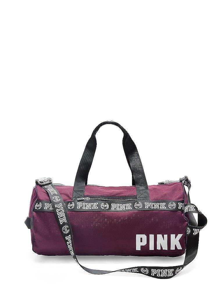Victorias Secret PINK Gym Duffle Black Orchid