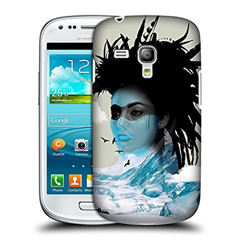 Official Vin Zzep Dreamcatcher Avatar Double Exposure Hard Back Case for Samsung Galaxy S3 III mini (Avatar Phone Case Galaxy S3)