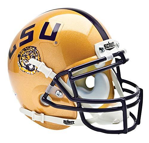 (Schutt NCAA LSU Tigers Mini Authentic XP Football Helmet, 7 Alt. 3)