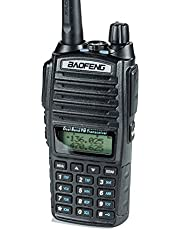 BaoFeng UV-82HP High Power Dual Band Radio: 136-174mhz (VHF) 400-520mhz (UHF) Amateur (Ham) Portable Two-Way