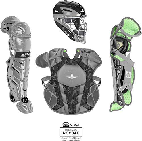 (All-Star Youth System7 Axis Camo Pro Catching Kit)
