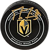 Marc-Andre Fleury Vegas Golden Knights Autographed Official Game Puck - Fanatics Authentic Certified