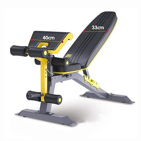 Mesa de Pesas Plegable Silla de Fitness Abdominales multifunción ...