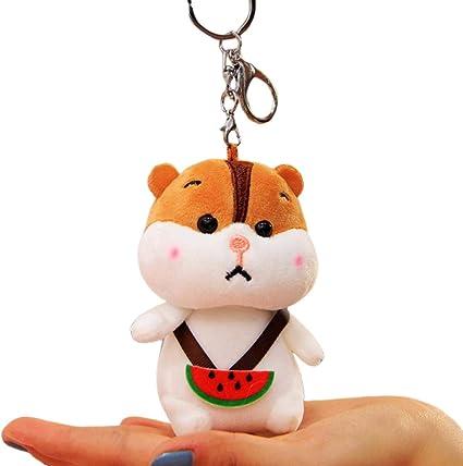 Peluche Pendentif Cle Serrure Dessin Anime Souris Peluche Jouet Fruit Hamster Packaging Un Hamster A Pasteque 12 Cm Amazon Fr Auto Et Moto