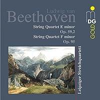 Beethoven: String Quartets E Minor Op. 59,2 / F Minor Op. 95