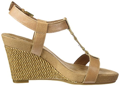 Nude Plush Aerosoles Sandal Nite Women A2 by Wedge Tq0awvqU6
