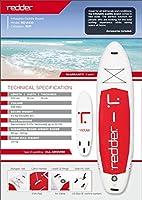 redder Tabla Stand Up Paddle– Kit: Tabla Inflable + Pala Ajustable ...