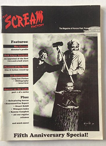 The Scream Factory: The Magazine of Horrors Past, Present, and Future, Issue #12, Autumn 1993