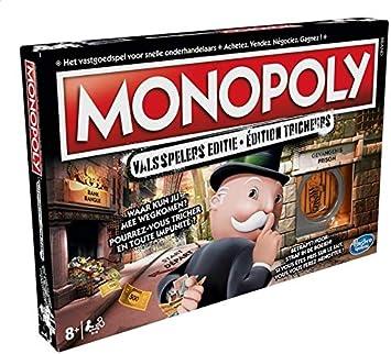 Hasbro Monopoly: Valsspelers Editie - Juego de Tablero (Simulación económica, Niños y Adultos, Niño/niña, 8 año(s), 63 Pieza(s), Caja): Amazon.es: Juguetes y juegos