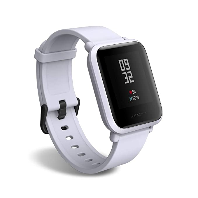 Amazfit Bip Smartwatch by Huami with All-Day Heart Rate and Activity Tracking, Sleep Monitoring, GPS, Ultra-Long Battery Life, Bluetooth, US Service ...