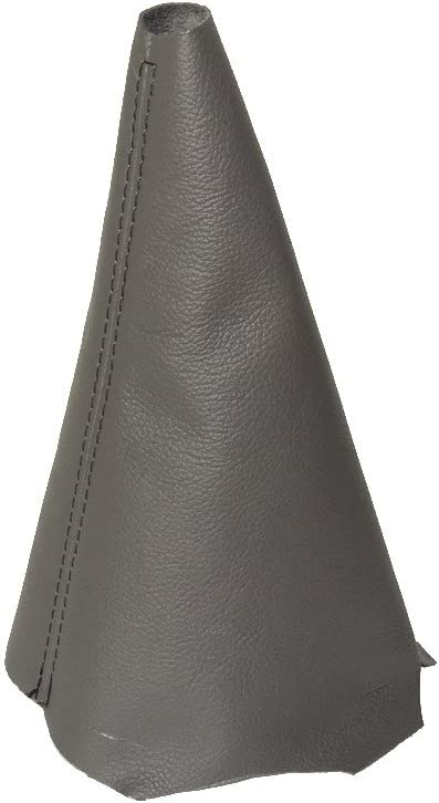 For Citroen Berlingo II 2008-16 Gear Stick Gaiter Grey Genuine Leather Black Stitch