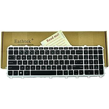 New Silver HP ENVY 15-J100 17-J100 15T-J000 17T-J000 M7-J100 Keyboard US Backlit
