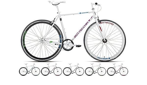 BOTTE cchia 301 # Hash Día Fixie Singlespeed para bicicleta, tamaño 50 cm, tamaño de cuadro 50.00 centimeters, tamaño de rueda 28.00 inches: Amazon.es: Deportes y aire libre