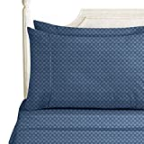 Bed Sheet Bedding Set, King, Navy Blue, Elegant - Best Reviews Guide