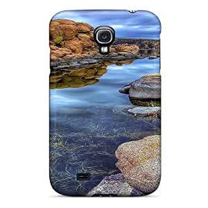 Fashionable SlltPte1269pTukh Galaxy S4 Case Cover For Wonderful Stone River Hdr Protective Case