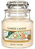 Bougie parfumée Christmas Cookie - parfum Yankee authentique.
