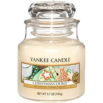 Amazon.com: Yankee Candle Christmas Cookie 3.7 oz candle: Home ...