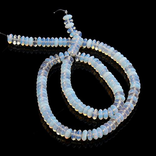 [Opal Beads]Linsoir Beads Crystal Natural Opal Beads Loose Spacer Gemstone Stone Beads 3mmX6mm 130pcs/strand