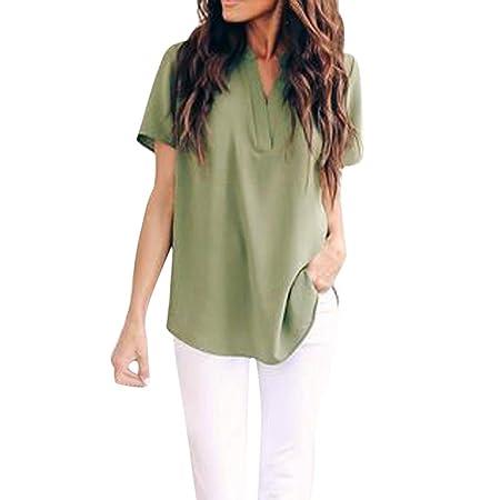 Wawer Blusas Camisetas de Ropa de Mujer Suéter Jersey ...