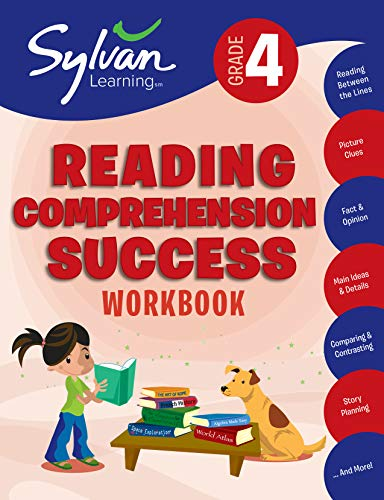 4th Grade Reading Comprehension Success Workbook: Activities, Exercises, and Tips to Help Catch Up, Keep Up, and Get Ahead (Sylvan Language Arts Workbooks) ()
