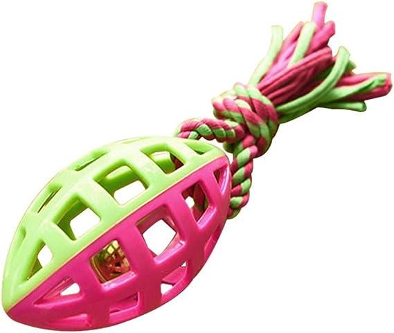 KOBWA - Pelota de Juguete interactiva con Cuerda y Cascabel para ...