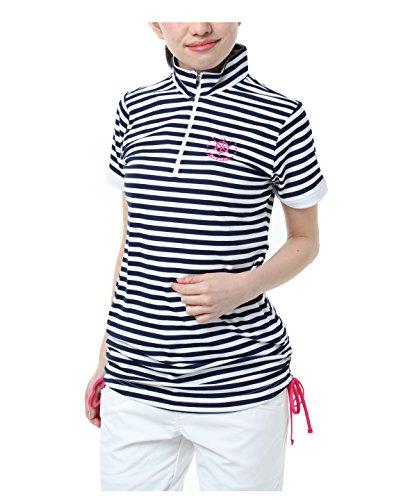 オプスト ゴルフウェア 半袖シャツ BD半袖チュニック OP220301H010 NV O