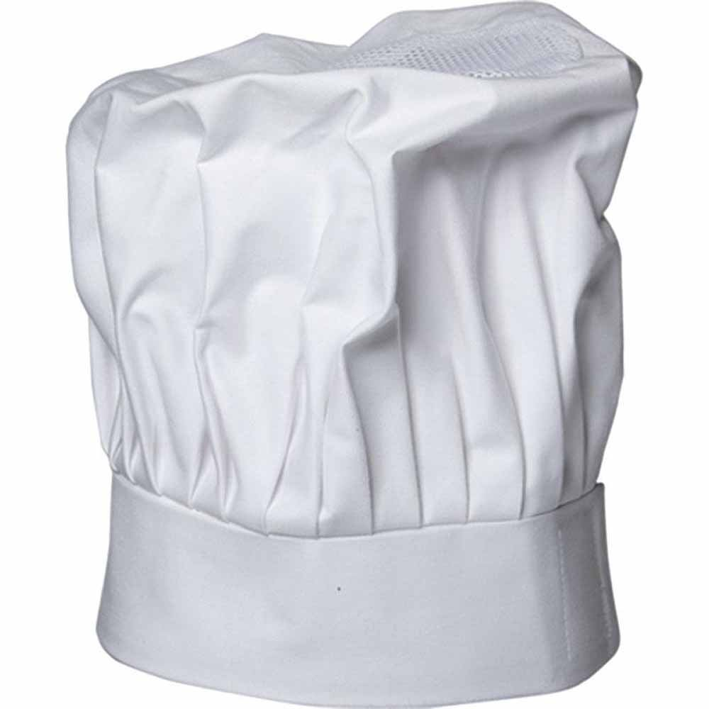 Karlowsky Dishcloth Toque Chef Km 16 3 One Size White by Karlowsky