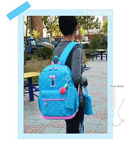 À Enfant Sacs à Légères Sacs Blue Impression Dos Filles Les Orthopédique à Dos Haoling Dos Pour Sacs D'école Adolescentes Sac 1 Enfants Afxvwz7pU