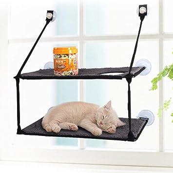 Qks Cama del Gato del Gato American Glass Hamaca Hamaca Gato ...