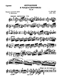 Introduction et Rondo capriccioso - For Violin and Piano (Bizet)
