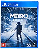 Produzido pela 4A Games, Metro Exodus é um jogo de tiro em primeira pessoa impressionante com uma história envolvente.