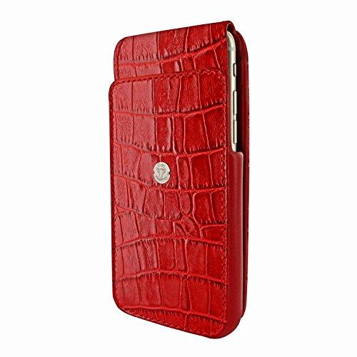 Piel Frama 685 Red Crocodile iMagnum Leather Case for Apple iPhone 6 Plus / 6S Plus / 7 Plus / 8 Plus by Piel Frama (Image #2)