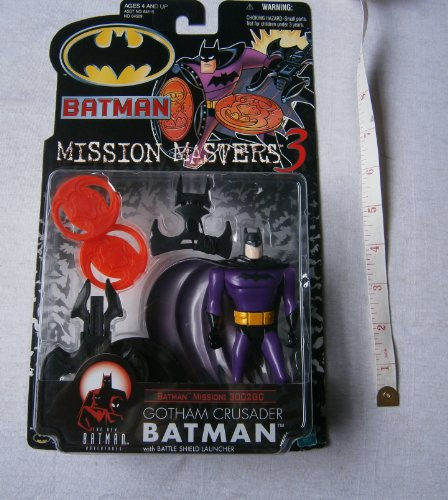 Batman: The New Batman Adventures Mission Masters 3 Gotham Crusader Batman Action Figure ()