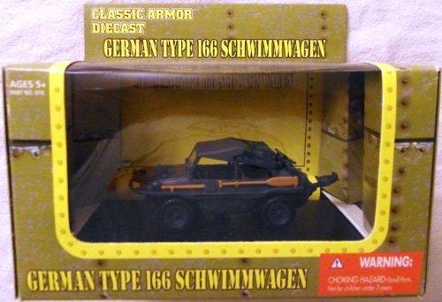 (Classic Armor 2005 1/48 Diecast WWII German Type 166 Schwimmwagen)