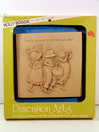 "Vintage Holly Hobbie Decorator Wall Accent ""Friends are always in steep with each other"""