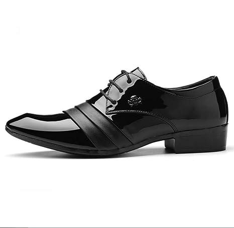 ff15c5ddf591a SHANGWU Vals De Los Hombres De Cuero Genuino Italiano Colección Zapatos De  Cuero De Negocios Zapatos