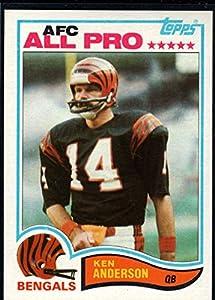 Football NFL 1982 Topps #38 Ken Anderson Bengals